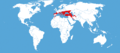 Marumba quercus habitat map.png