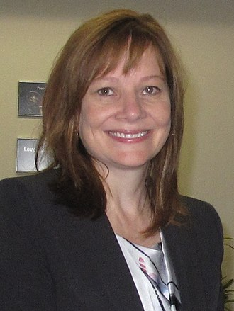 Mary Barra - Barra in Mexico, August 2014