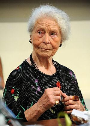 Mary de Rachewiltz - Mary de Rachewiltz in 2012