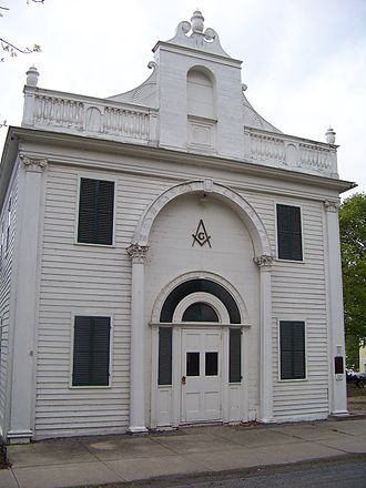 Lewis H. Morgan - Image: Masonic Lodge