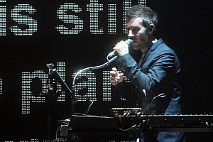 Robert Del Naja - Del Naja performing in Massive Attack V Adam Curtis 2013