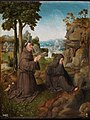 Master of Hoogstraten - Saint Francis of Assisi receiving the Stigmata, Ca. 1510.jpg