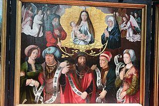 Triptyque: Vision de l'Ara Caeli, Virgo Deipara, La Vision de Saint Jean dans l'Ile de Pathmos
