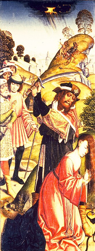 Master of Affligem - Image: Master of the Joseph Sequence The Martyrdom of St Barbara Walters 37778