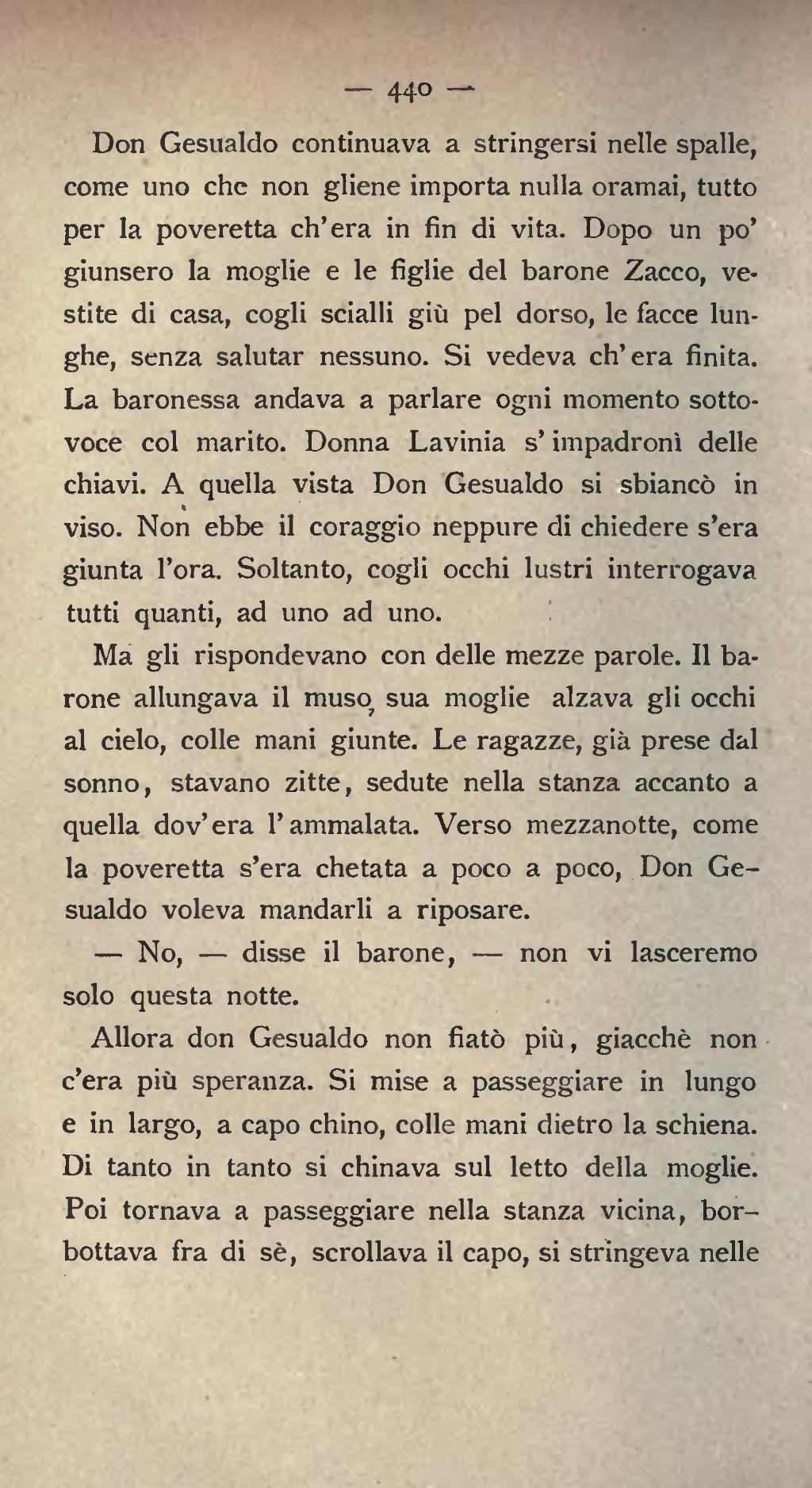 Pagina mastro don gesualdo 1890 djvu 448 wikisource for Testo il cielo nella stanza