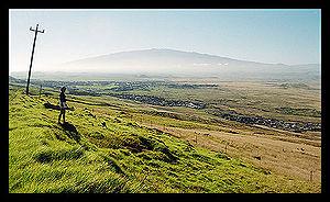 Mauna Kea visto de Kohala