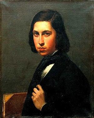 Joséphine Calamatta - Portrait of Maurice Sand (1845), oil, by Joséphine Calamatta