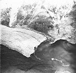 McCarty Glacier, terminus of tidewater glacier and junction with mountain glacier, undated (GLACIERS 6607).jpg