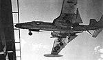 McDonnell F2H-4 Banshee of VF-22 landing on USS Randolph (CVA-15), circa in 1957.jpg
