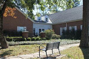 Overton, Texas - The McMillan Memorial Library in Overton, Texas