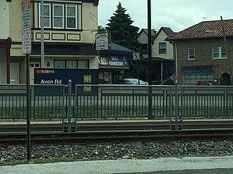 Avon Road station - Avon Road station