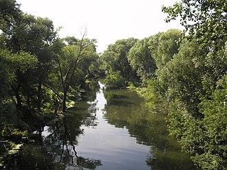 Medveditsa River (Don basin) - Medveditsa River near Atkarsk