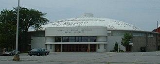 Meehan Auditorium - Image: Meehan Outside