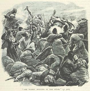 Battle of Geok Tepe (1879) Battle between the Russian Empire and Turkmens