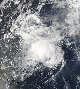 2007 Atlantic hurricane season - Image: Melissa 29 sept 2007 1245Z
