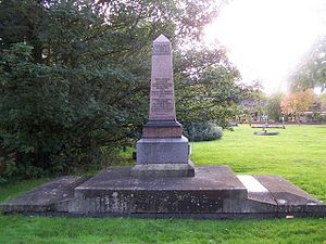 Pelsall - Memorial to the Pelsall Hall Colliery mining disaster