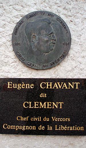 Eugène Chavant - Memorial to Eugène Chavant in Grenoble