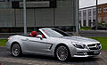 Mercedes-Benz SL 350 (R 231) – Frontansicht geöffnet (2), 22. Mai 2013, Düsseldorf.jpg