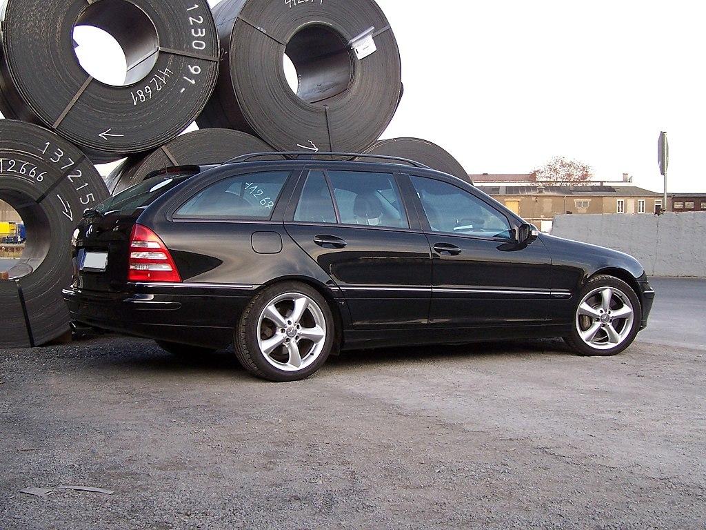 File Mercedes Benz C180 T S203 Seite Jpg Wikimedia