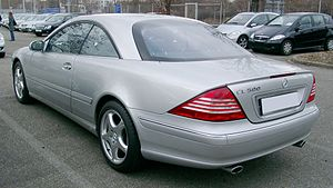 Mercedes-Benz CL-Class - Mercedes-Benz CL 500 coupe.