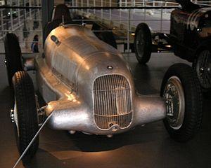 Mercedes-Benz W25 - Image: Mercedes Silberpfeil W25 1934 Vorderansicht