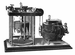 Mercurio elemento wikipedia la enciclopedia libre interruptor de turbina de mercurio el motor hace girar la rueda dentada que pasa por un flujo de mercurio proyectado a travs de la trayectoria de los urtaz Gallery