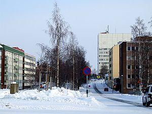 Kemi - Image: Meripuistokatu Kemi 2006 03 05