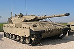 Merkava Mark II at Yad La-Shiryon.