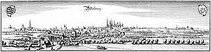 Merseburg - Merseburg in 1650