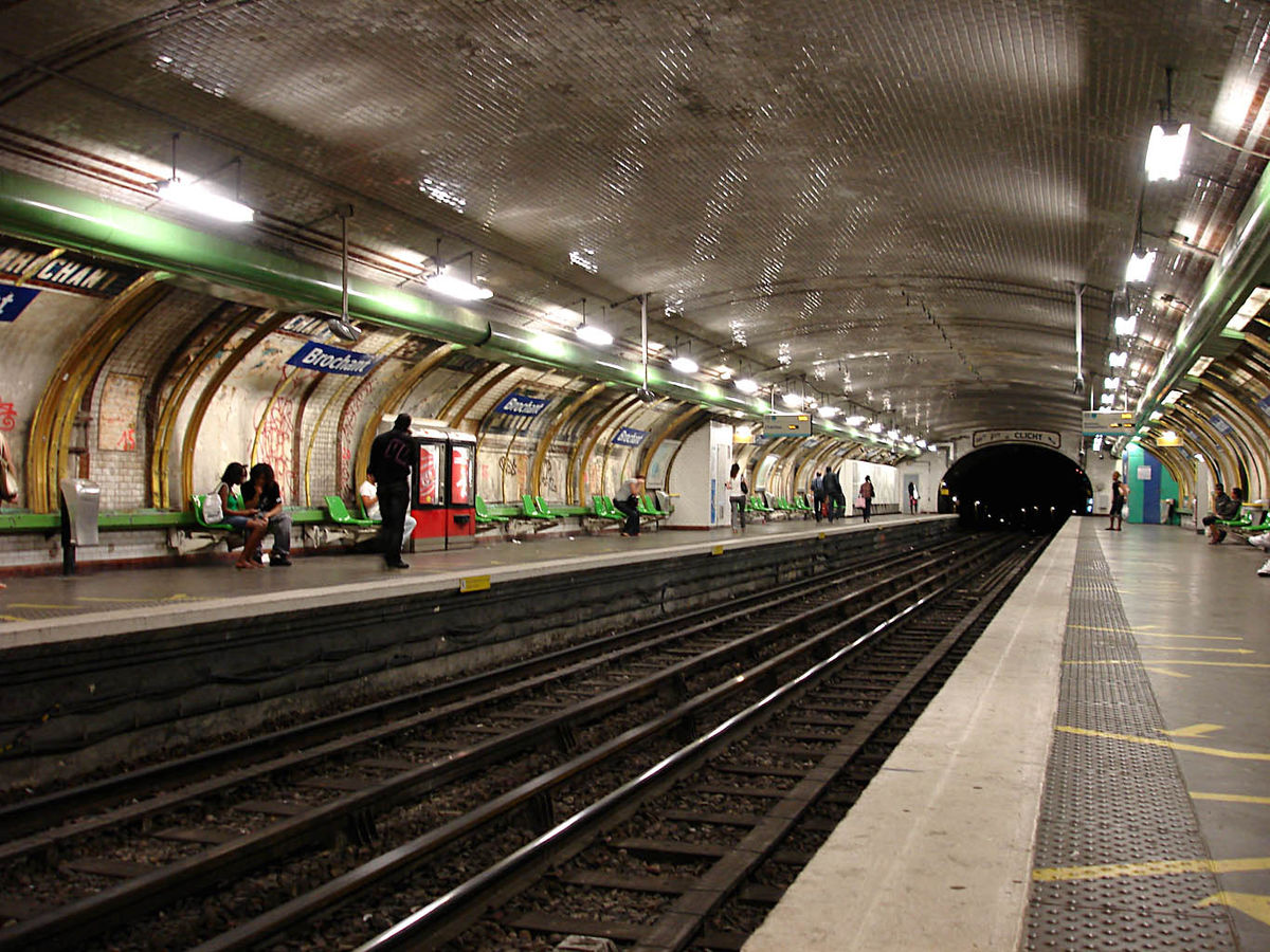 Brochant (Paris Métro) - Wikipedia