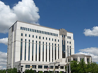 Bernalillo County Metropolitan Court - The Metropolitan Courthouse was completed in 2003