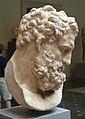 Metropolitan marble head of Herakles Roman 1C AD 3.JPG