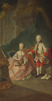 Meytens - Archduke Leopold and his sister Princess Maria Christine.png