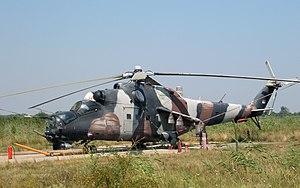 204th Air Brigade - Mi-24 of the 138th Transport squadron