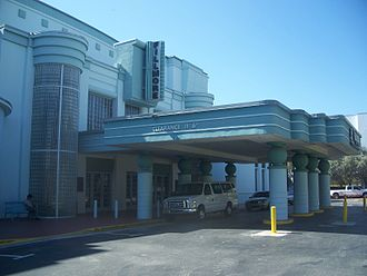Miami Beach Convention Center - Exterior of venue (c.2011)