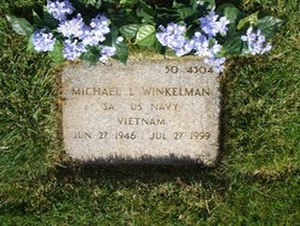 Michael Winkelman - Winkelman gravestone at Riverside National Cemetery