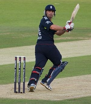 Michael Yardy on his was to 57 for England in ...