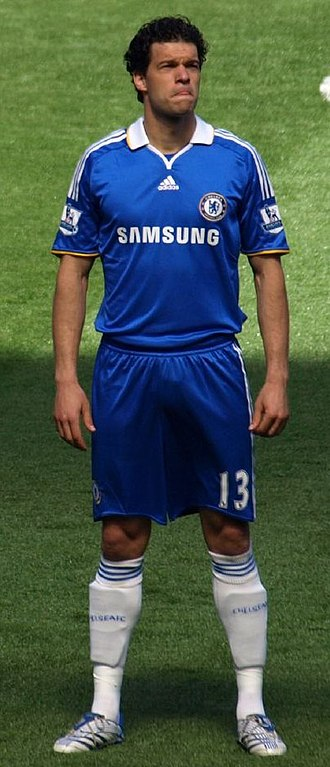 Michael Ballack - Ballack with Chelsea in 2008.