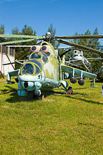 Mil Mi-24B @ Central Air Force Museum.jpg