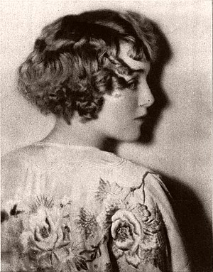 Kenneth Alexander (photographer) - Portrait of silent-movie actress Mildred Davis by Kenneth Alexander