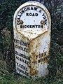 Milepost in Bickerton - geograph.org.uk - 304200.jpg