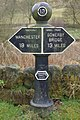 Milepost on the Rochdale Canal - geograph.org.uk - 1234548.jpg