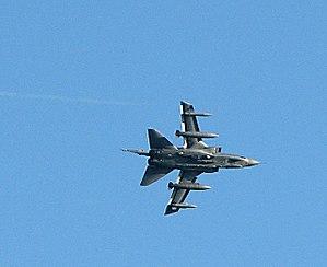 RAF Marham - Tornado GR4 in flight over RAF Marham