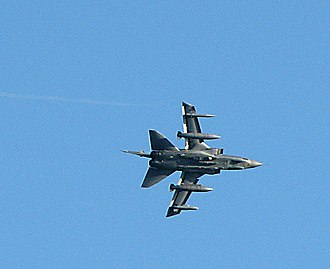 RAF Marham - Tornado GR4 in flight over RAF Marham