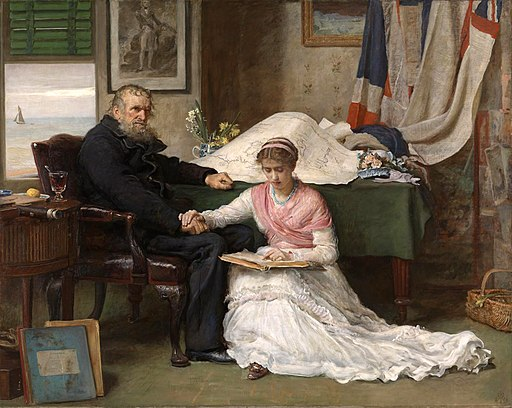 """The North-West Passage"" by John Everett Millais"