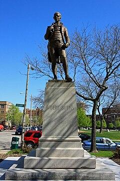 <i>Statue of Robert Burns</i> (Milwaukee) artwork by William Grant Stevenson