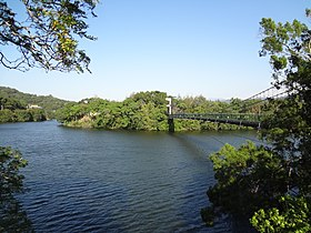 Mingte Reservoir Suspension Bridge No.1 20151017 2.jpg