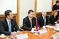 Ministru prezidents Valdis Dombrovskis tiekas ar NATO ģenerālsekretāru Andersu Fogu Rasmusenu (6730916965).jpg