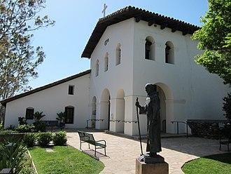Mission San Luis Obispo de Tolosa - Image: Mission San Luis Obispo