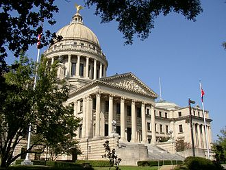 Mississippi State Capitol - Image: Mississippi New State Capitol Building in Jackson